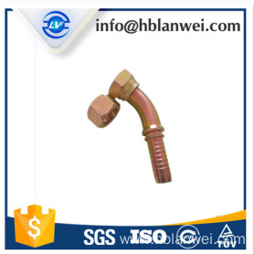 carbon steel BSP hydraulic hose fitting