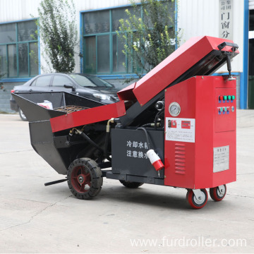 5.5KW mini hydraulic type concrete pump cement mortar conveying pump FMP-34