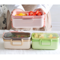 Bamboo Fiber Food Container Organiser Wholesale