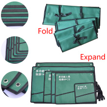 8/10/14/20 Pockets Roll Up Wrench Tools Storage Bag Canvas Spanner Wrench Organizer Pouch Case