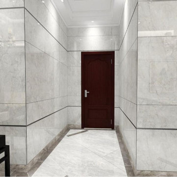 Discount white large carrara marble floor tiles