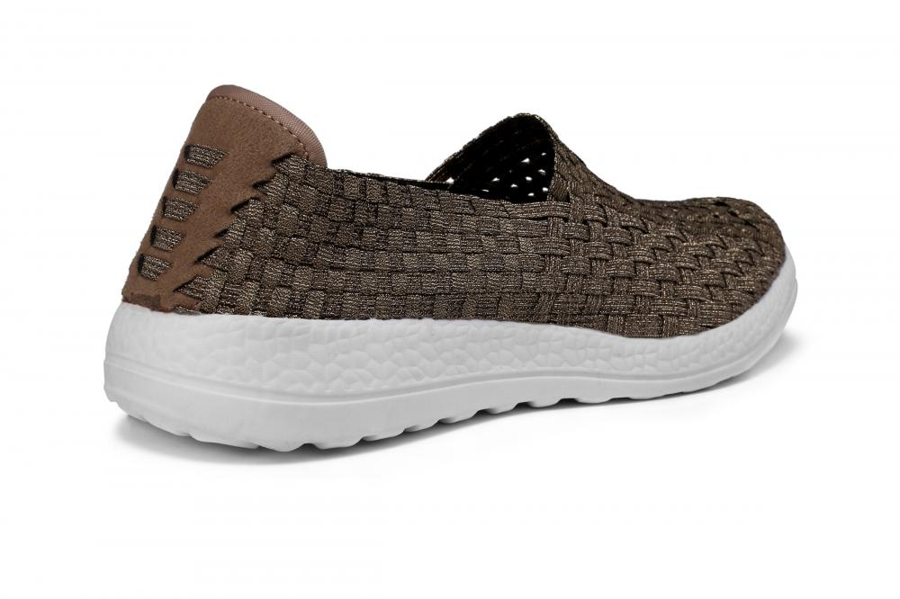 Breathable Memory Insole Woven Hollow Shoes
