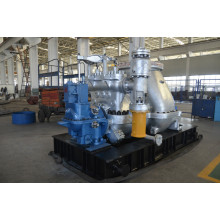 Back Pressure of Condensing Steam Turbine