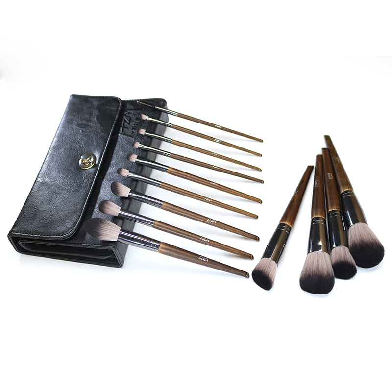 14 Solid wood Makeup Brush 9