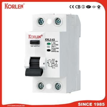 RCCB 1p+N 3p+N RCCB Prevent Electric Shock IEC61008