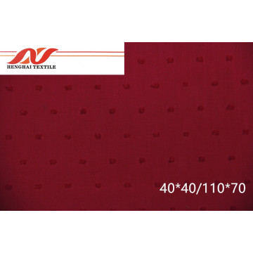 Rose red embroidered cloth 40*40/110*70 57/58'' 118gsm