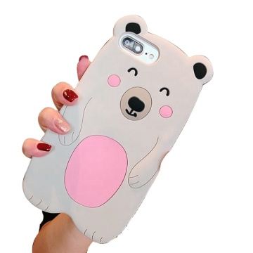 Fashion Silicone Phone Case Customized Design