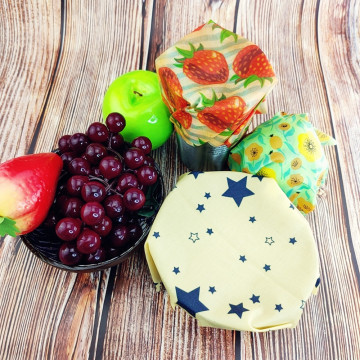 Zero Waste Beeswax Food Wrap Eco-Friendly Reusable Fresh-Keeping Food Wraps Foods Packaging Kitchen Tools