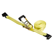 "2""5t 10000lbs Ratchet tie down Polyester Cargo Lashing"