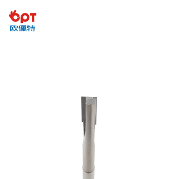 PCD oil flat groove end mill lathe cutter