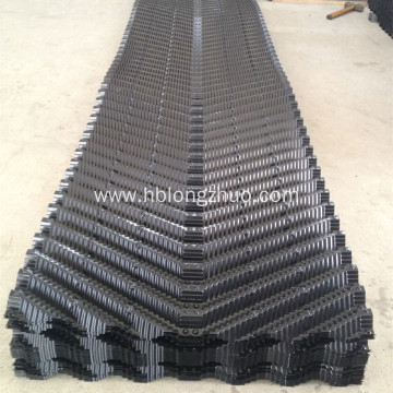Counter flow cooling tower PVC fill sheets