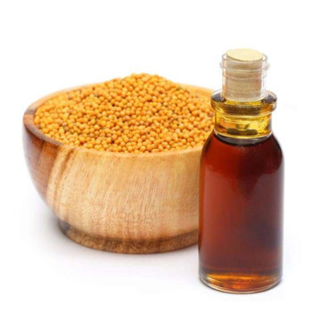 Natural organic mustard oil for food additives