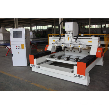 cnc cylinder lathe woodworking machine