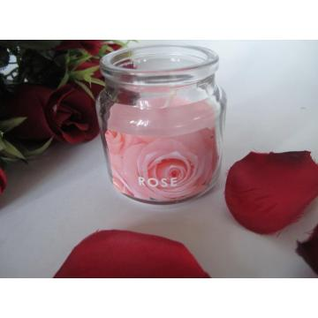 Rose Scented Candles in a Jar