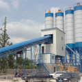 HZS120 cement new small concrete mixing plant