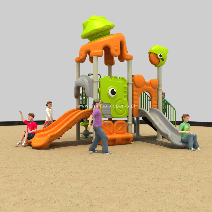 Colorful Outdoor Play Set