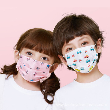 Disposable 3layer children face mask