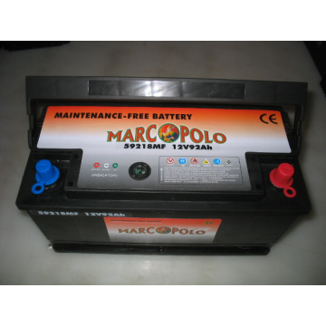 12V 92Ah MF Car Batteries DIN