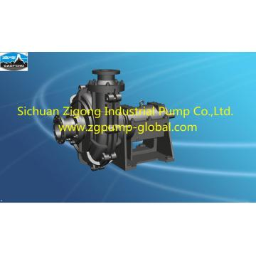 High efficiency double shell slurry pump