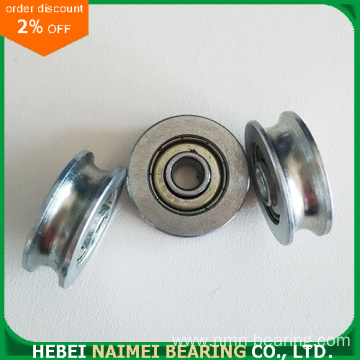 U Groove Ball Bearing Wheel
