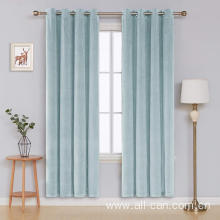 Top quality hanging family curtain supplies curtain