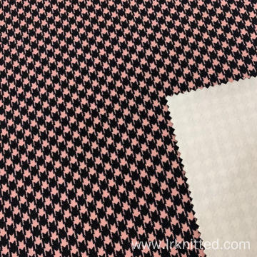 Hound Tooth Check Printing Fabric