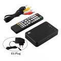 Full HD Media Player 1080P Resolution USB External HDD Multimedia Player with HD VGA AV Output US/EU Plug