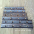 Arema standard fish plate rail guide Plate