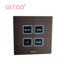 Wall push button Panel low voltage  switches