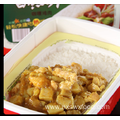 Fast food curry chicken self-heating rice