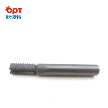 PCD thread glass milling cutter outside with comp