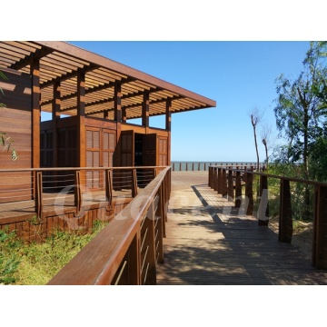 Prefabricated Glulam Homes For Tourist Resorts