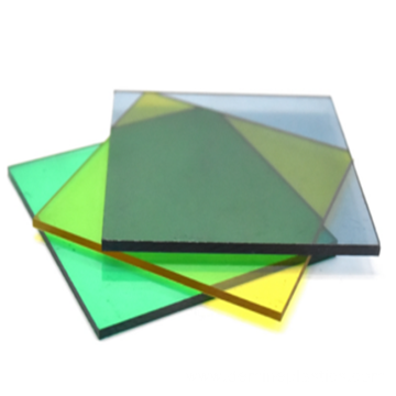 Polycarbonate sheet cover sheet solid color plastic sheet