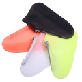 Silicone Waterproof Shoe Cover Reusable Non Slip Grip Has A Zipper
