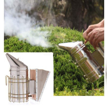 Beekeeping Tool Galvanized Sheet+Board Bee Smoke Transmitter Kit Apiculture Bee Smoker Smoke Sprayer Bee Smoker Beekeep