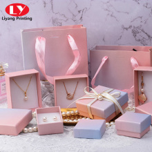 Cheap wholesale paper packaging gift jewelry box