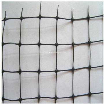Stretched Square Mesh Plastic Deer Fence