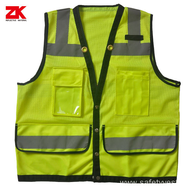 Cheap safety industrial warning vest