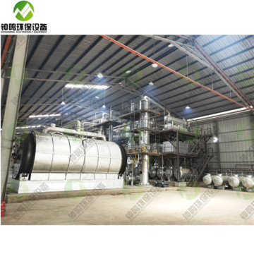 Industrial Fractionating Column For Waste Engine Oil
