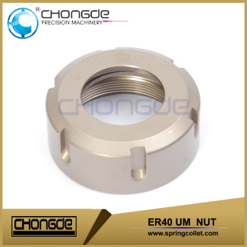 Ultra precision high durability ER40UM nut