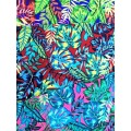 Tropical Design Rayon Challis 32S Printing Fabric