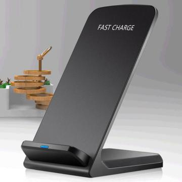 10W Qi Wireless Charger Stand For Phone X XS Max XR 8 Plus Samsung S9 S10+ Note 9 8 Fast Charging Dock Station Phone Charger