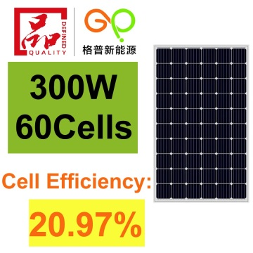 300Watt Monocrystalline Solar Panel