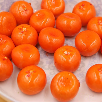 10pcs Artificial Orange Fake Foam Fruits and Vegetables Berries Scrapbooking Flowers For DIY Wedding Simulation Tree Decoration