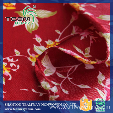 Top Quality 100% Polyester Satin Fabric