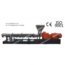 Plastic recycling machine single screw extruder