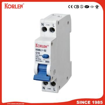 EARTH LEAKAGE CIRCUIT BREAKER KNBL1-32 32A 10mA CE