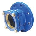 PE Restraint Flange Adaptor With Brass Thrust Ring