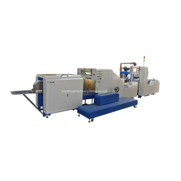 High Speed Square Bottom Paper Bag Making Machine