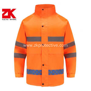 2020 new style waterproof hi-vis reflective workwear jacket